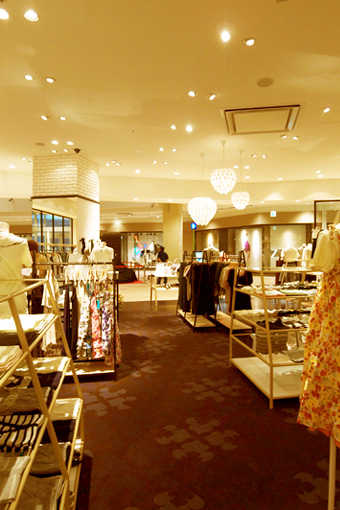 earth music & ecology superpremium store , Lalaport IWATA